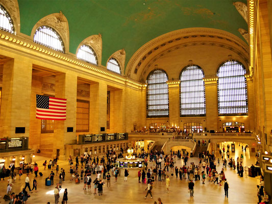 New York Reiseplanung: Grand Central Station