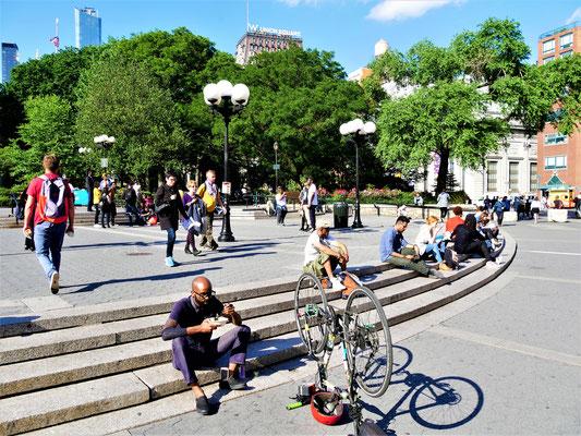 New York Parks Union Square Park