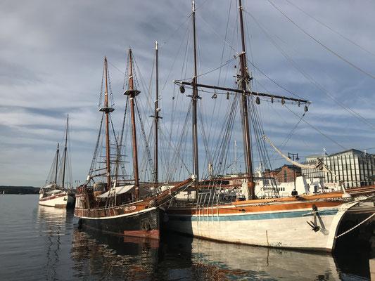 Oslo Reisebericht Aker Brygge und Hafen