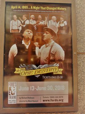 reisebericht washington ford's theatre