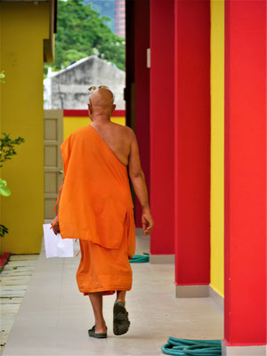 Penang Reise Buppharam Buddhiest Tempel