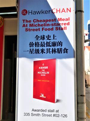 SChinatown Singapur Sehenswürdigkeiten Hawker Chan