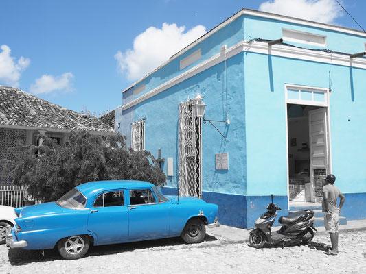 Trinidad Kuba Sehenswürdigkeiten Oldtimer