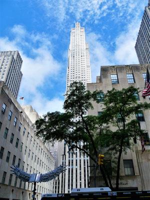 New York Reiseplanung: Rockefeller Center