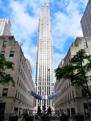 New York Reisebericht: Rockefeller Center