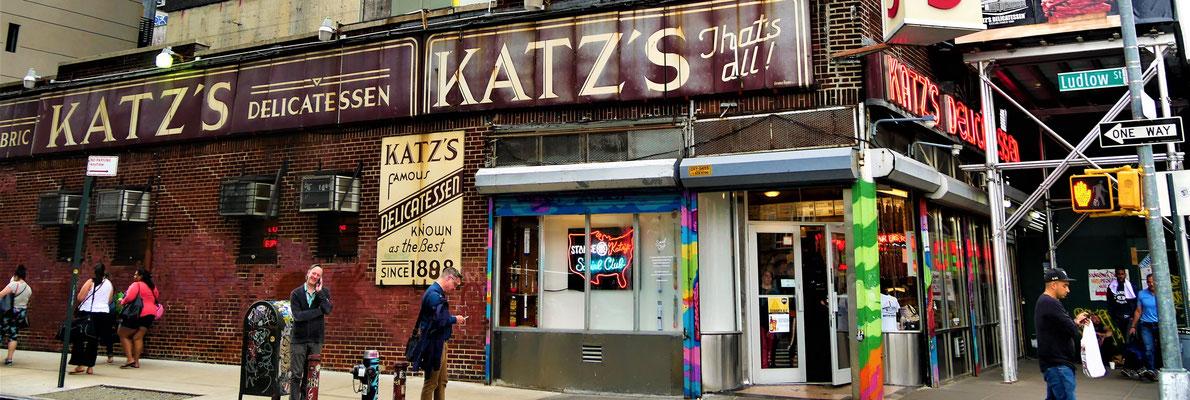 New York Geheimtipps : Katz' Delicatessen