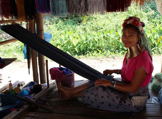 Chiang Rai Thailand Bergvölker