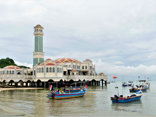 Penang Sehenswürdigkeiten Floating Mosque