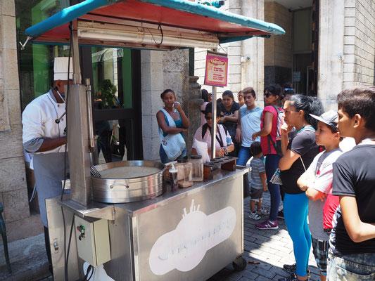 Kuba Havanna Sehenswürdigkeiten einheimische Speisen