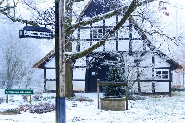 Winter im Grönenbergpark Melle