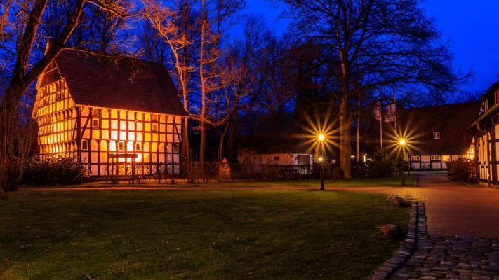 Grönegau-Museum Melle - Blaue Stunde