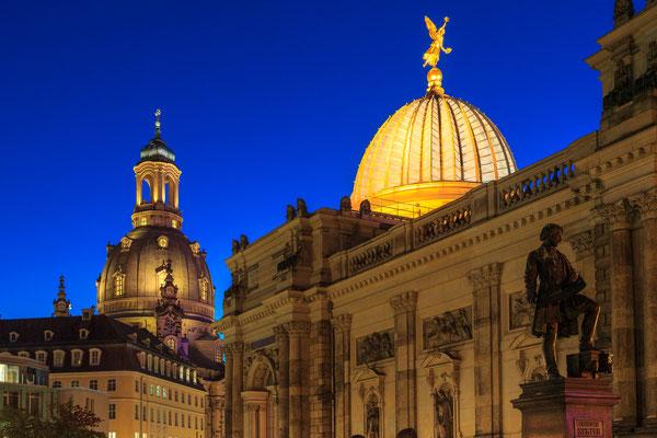 Blaue Stunde - Dresden Brühlsche Terrasse