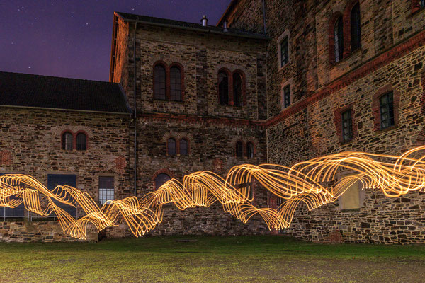 Lightpainting am Museum Industriekultur Osnabrück