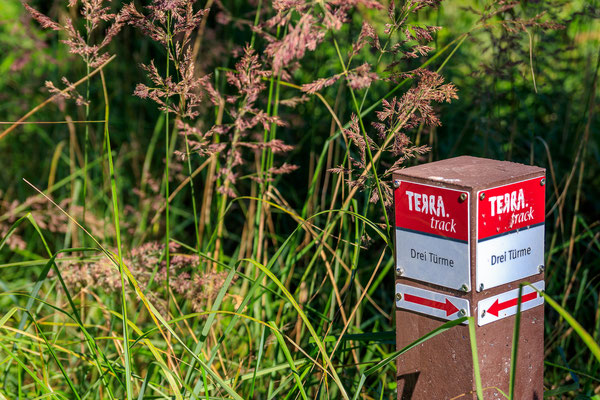 TERRA.track Drei Türme in den Meller Bergen