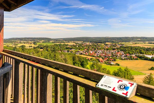 Aussichtsturm Friedenshöhe in Melle-Buer