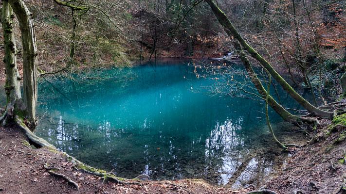 Blauer See, Dissen