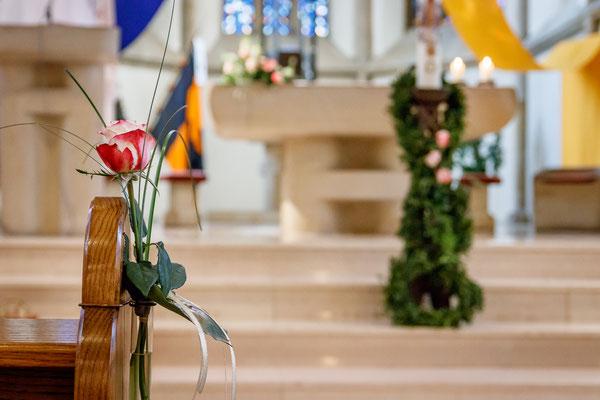 Goldene Hochzeit in der Kirche in Melle-Wellingholzhausen