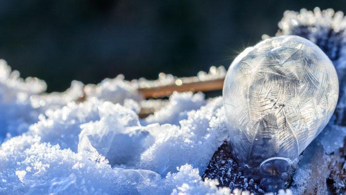 Frozen Bubble - gefrorene Seifenblase