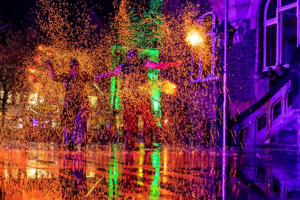 Fabelhaftes Melle 2019 - Feuershow Flamma Scaena