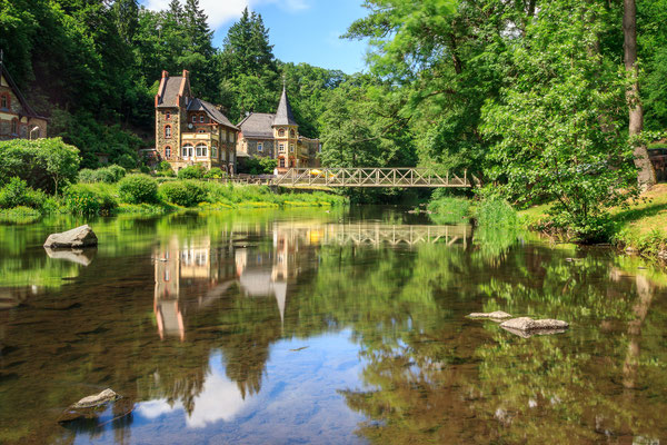 Hotel Bodeblick in Treseburg bei Thale