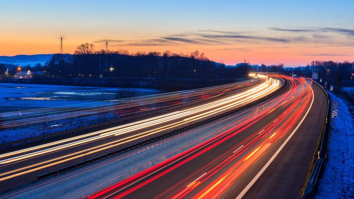 Autobahnabfahrt Melle-Gesmold