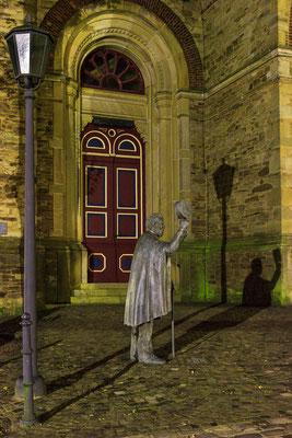 Fritz-Kamping-Statue Melle-Buer