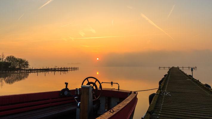 Sonnenaufgang am Dümmer