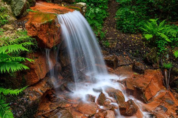 Wasserfall im Kasinopark Georgsmarienhütte