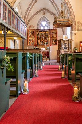 Silberhochzeit in der Kirche in Melle-Oldendorf
