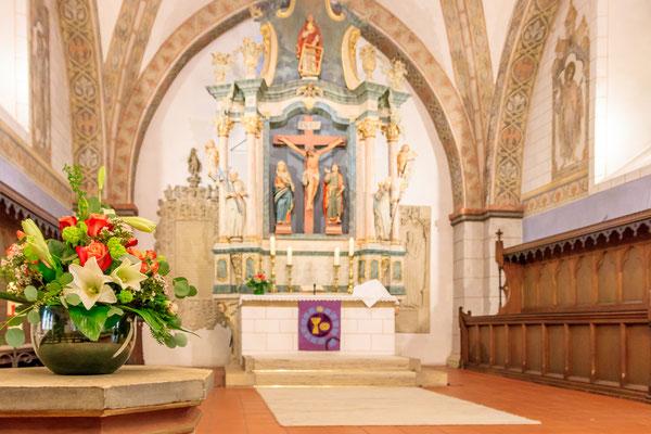 Silberhochzeit in der Kirche in Schledehausen