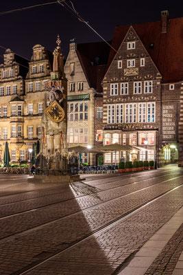 Bremer Marktplatz mit dem Roland