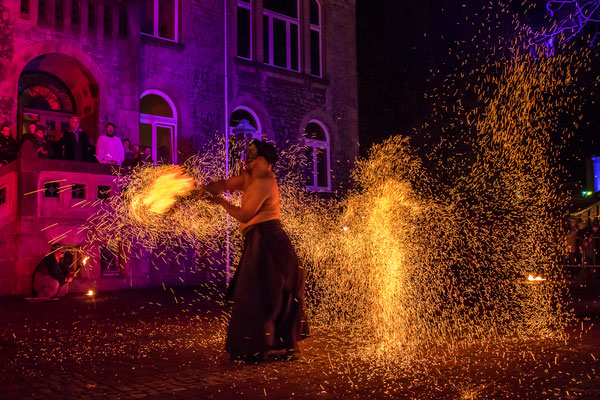 Fabelhaftes Melle 2018 - Feuershow Flamma Scaena