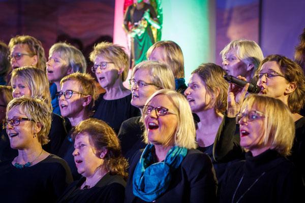 """Chorkonzert """"Querbeat"""" in der Kirche in Melle-Gesmold"""