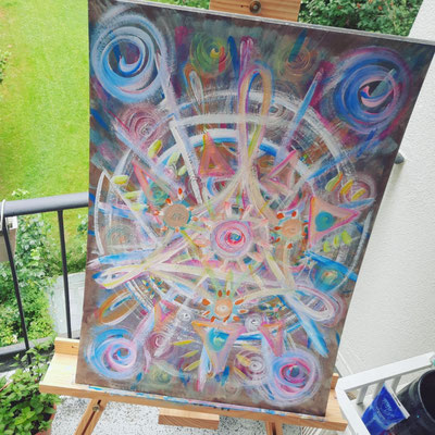 Kunst, galactic activation, Carina Weber, Kreativarbeit, Künstler, Artist Ascension, Hamburg