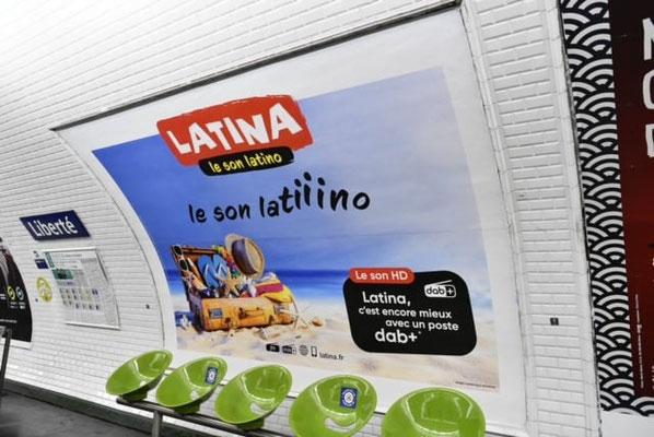 Latina, c'est encore mieux avec un poste DABplus
