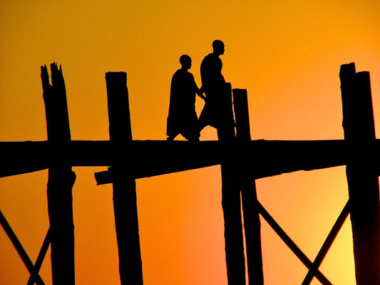 BURMA   U-Bein Bridge