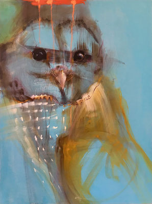 """The Little Philosopher    24""""x18""""    oil on panel.  SOLD"""