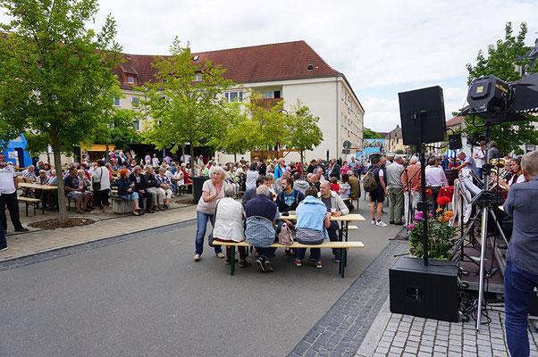 Das Volksfest am Samstag in der Innenstadt