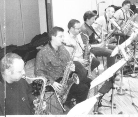 Saxophone der SWR-BigBand