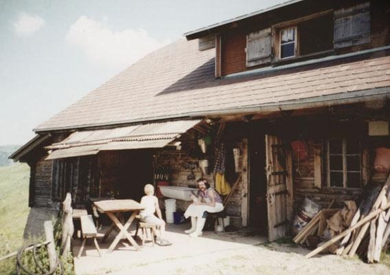 Alphütte vor dem Umbau 2000