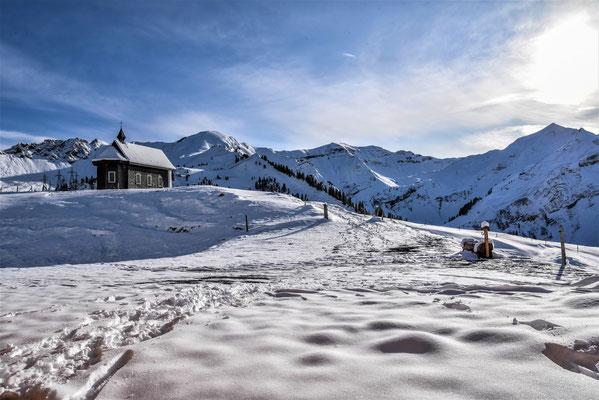 Alp Jänzimatt im Winter
