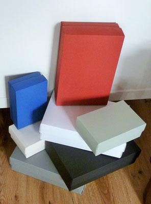 Geschenkkartons BUNTBOX - 100 % recycled