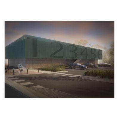 Halle 123 - Rendering - Mario Steiner