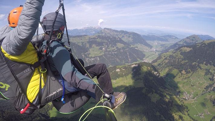 hoch über dem Engelbergertal