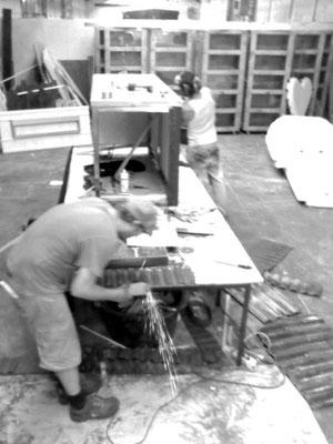 interieurbau für einen bierzeltbetreiber