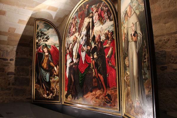 Sala de Bajo Claustro de la Catedral de Segovia