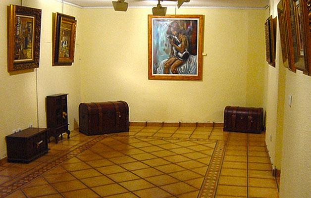 Galería de Arte Zaca, en La Granja