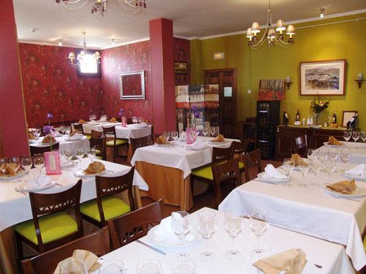 Restaurante del Complejo de Turismo Rural A Toca