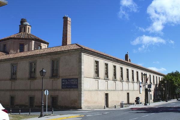Museo Tecnológico del Vidrio. Fábrica de Cristales