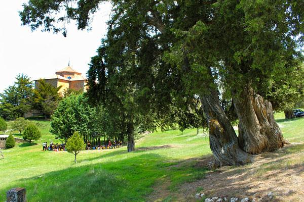 Ermita de Hornuez en las Hoces del Riaza